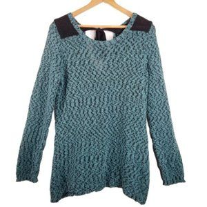 4/$25 Maurices Teal Knitted Oversized  Top